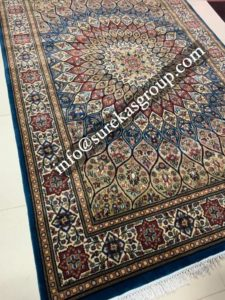 Traditional design hand-knotted rugs