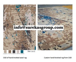 Custom Hand-knotted rug manufacturers