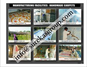 manufacturing facility of custom rugs